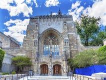 Uniwersytet Yale Niezawodna Pamiątkowa Biblioteczna Nowa przystań Connecticut Fotografia Royalty Free