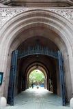 Uniwersytet Yale: Phelps bramy powierzchowność Obrazy Stock