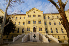 Uniwersytet Zagreb Zdjęcia Stock