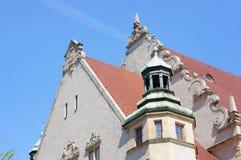 Uniwersyteta dach Zdjęcia Stock