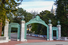Uniwersyteta Kalifornijskiego kampus Zdjęcie Stock