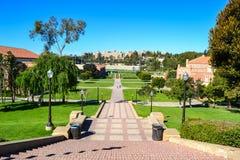 Uniwersyteta Kalifornijskiego Los Angeles UCLA kampus Zdjęcie Royalty Free