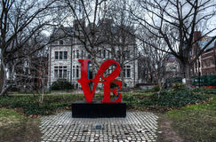 Uniwersyteta Pensylwanii kampus Zdjęcia Royalty Free