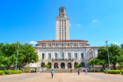 Uniwersyteta Teksańskiego Austin kampus Fotografia Stock