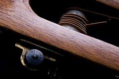 Unkempt guitar stock photo