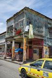 Unkept building in Colon Panama Royalty Free Stock Images