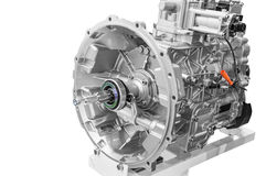 Unknown car engine Stock Image