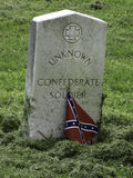 Unknown confederate soldier Royalty Free Stock Images