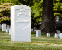 unknown för soldat u för grav s Royaltyfri Foto