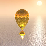 Unknown object flying royalty free illustration