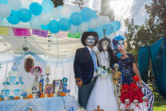 Free Unknown People And Altar On Display At The 15th Annual Day Of Th Royalty Free Stock Photography - 46324097