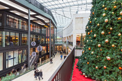 Unknown people in shopping mall `Forum`  in Duisburg, Germany Royalty Free Stock Images