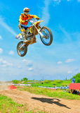 Unknown rider Royalty Free Stock Photos