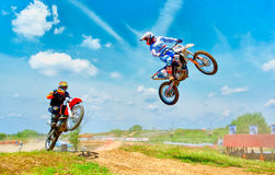 Unknown riders Royalty Free Stock Photography