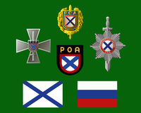 Unknown Russia - icons ROA Royalty Free Stock Images