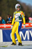 Unknown ski jumper Royalty Free Stock Image