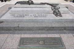 Unknown Soldier Grave - Ottawa - Canada royalty free stock images