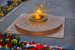 Unknown Soldier memorial Arc Triomphe Paris Stock Photos