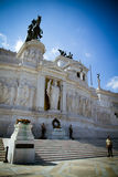 Unknown Soldier memorial in Rome, Italy. stock images