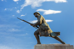 Unknown Soldier Statue, Brasov, Romania Stock Photo