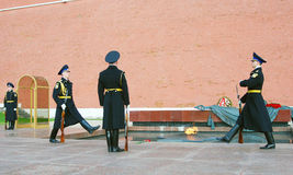 Unknown soldier tomb in Moscow Stock Photography
