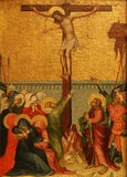 Unknown Styrian painter: Crucifixion Royalty Free Stock Photo
