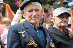 The Unknown Veteran On The Victory Day Stock Photography