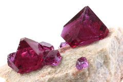 Unknown violet mineral Royalty Free Stock Images