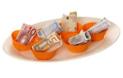 Unkosten auf Nahrung Stockfotos