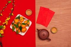 Unkosten des festlichen Hintergrundes Spitzendekorationen Chinesischen Neujahrsfests lizenzfreies stockfoto