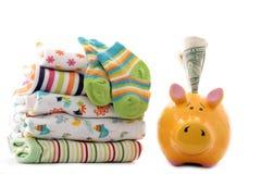 Unkosten für neugeborenes Schätzchen lizenzfreies stockfoto