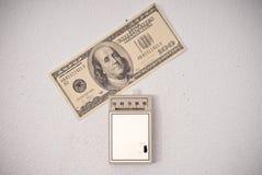 Unkosten im Gas Bill stockbild