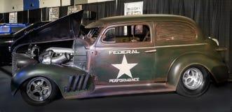 Unkown a reconstruit la voiture (la zone de performances) Photos libres de droits
