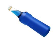 Unlabeled Bottle Stock Photography
