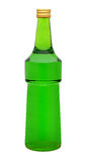 Unlabeled Bottle Stock Image
