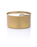 Unlabeled Easy Open Tuna Can Royalty Free Stock Photography