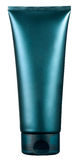 Unlabelled blue plastic beauty or cosmetics tube Stock Photos
