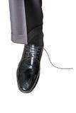 Unlaced shoe Stock Photo