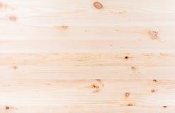 Unlackierte Kiefernvorstände der Beschaffenheit Stockfoto