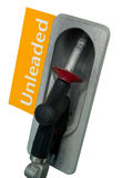 Unleaded Petrol Bowser/Pump. Isolated Unleaded Petrol Bowser/Pump Royalty Free Stock Image
