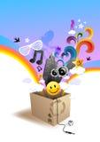 Unleashed Beats! Stock Image