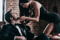 Unleashed desire. Royalty Free Stock Photos