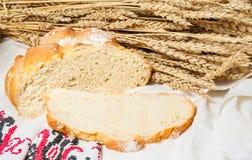 Unleavened ψωμί σίτου Στοκ εικόνες με δικαίωμα ελεύθερης χρήσης