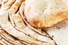 Unleavened wheat cake Royalty Free Stock Photography