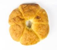 Unleavened wheat cake Royalty Free Stock Image