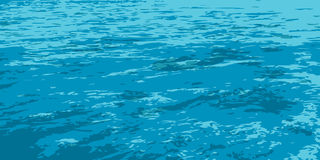 Unlimited_expanse_of_sea διανυσματική απεικόνιση