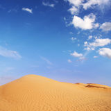 Unlimited freedom. African desert in summer of 2008 Royalty Free Stock Photography