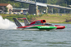 Unlimited Hydroplane Royalty Free Stock Image