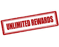 Unlimited rewards Royalty Free Stock Photography