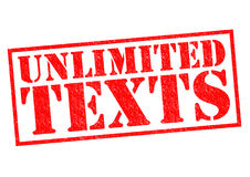 UNLIMITED TEXTS Royalty Free Stock Image